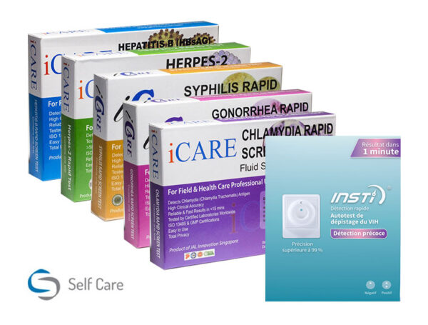 Pełny pakiet testów na obecność HIV oraz STD