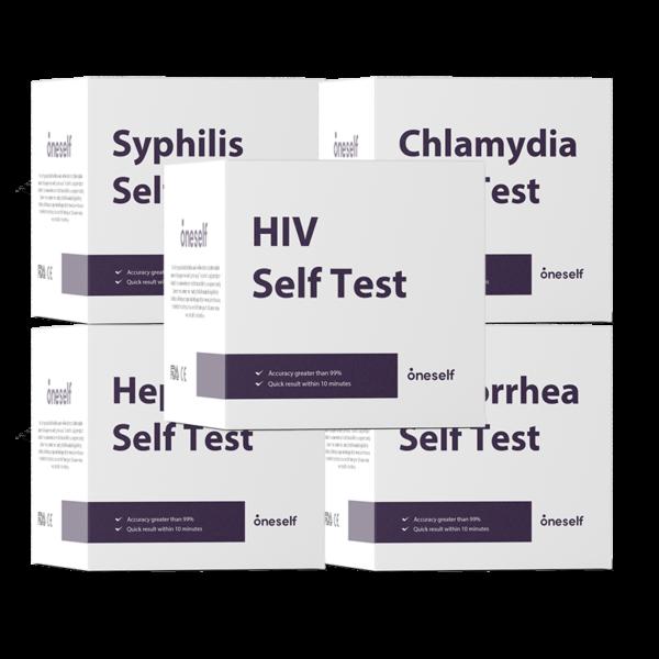 Kompletny pakiet testowy STD w domu